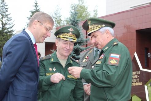 В Московском суворовском военном училище