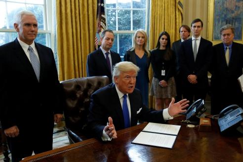 Команда Трампа после избрания его президентом США