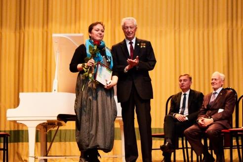 Церемония награждения международной экологической премией «EcoWorld», 28 ноября 2018 года