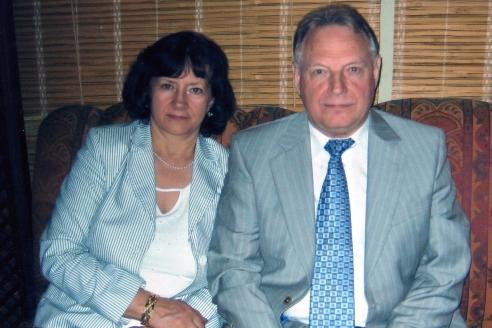 И. Касатонов с супругой