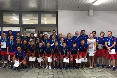 На Универсиаде с женской студенческой сборной России по футболу