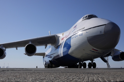 Самолёт  «Руслан» (Ан-124)