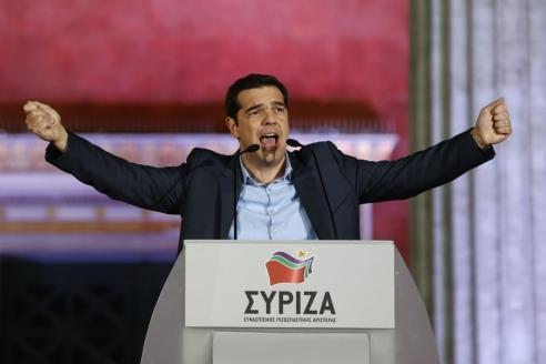 А. Ципрас, глава греческой левопопулистской партии «Сириза»
