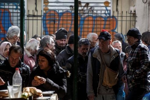 Бедность в Греции