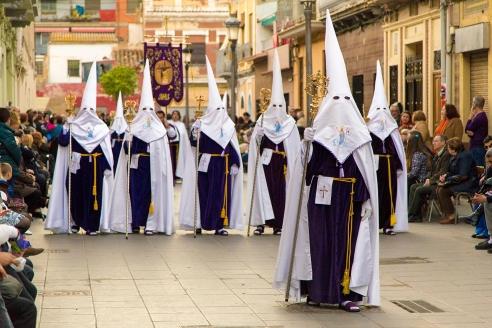 Празднование Пасхи в Валенсии