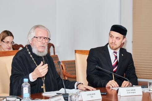 Протоиерей Лев Семёнов и Али-хазрат Хасанов