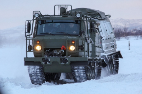 Снегоболотоход ГАЗ‑3344‑20 «Алеут»