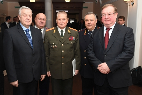 И. Кожевников, И. Шилов, Ю. Жданов и С. Степашин