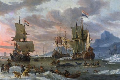 «Голландские китобои на Шпицбергене». А. Шторк