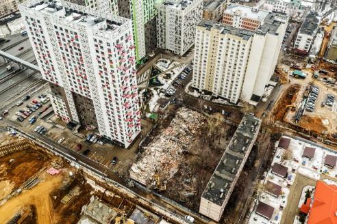 Программа реновации жилищного фонда в действии