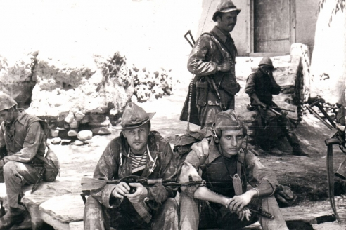 В Афганистане. 1982 г.
