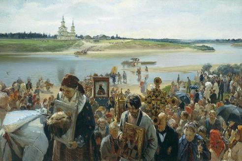 Илларион Прянишников. Крестный ход 1893 г.