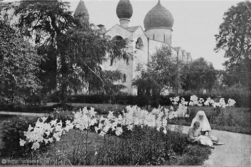 Сад Марфо-Мариинской обители