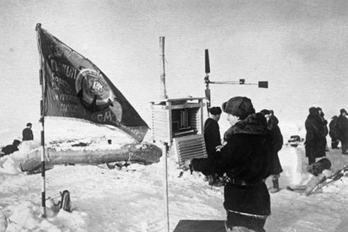 Будни полярной станции