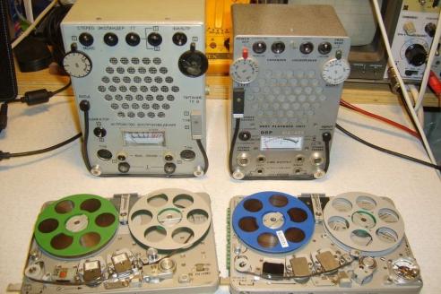 Комплект: магнитофон и усилитель «Яхта» и «Nagra SN»