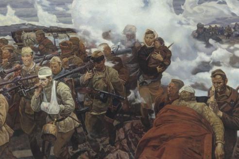 «В боях за Отчизну». М.И. Самсонов