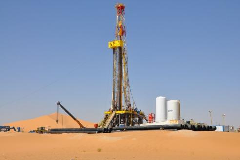 Газпром. Бурение первой поисковой скважины на участке Эль-Ассель в Алжире