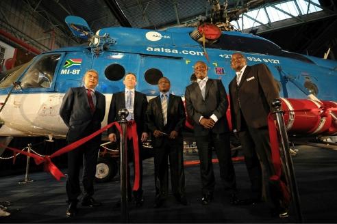 """Холдинг """"Вертолёты России"""" и Denel Aviation открыли сервисный центр по обслуживанию российских гражданских вертолётов в ЮАР"""