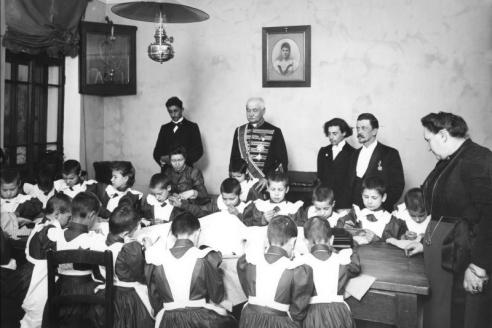 Детский приют трудолюбия св. Ольги. Санкт‑ Петербург. 1899 г.