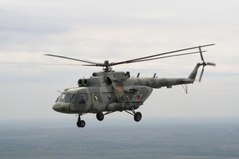 Вертолёт Ми-8АМТШ