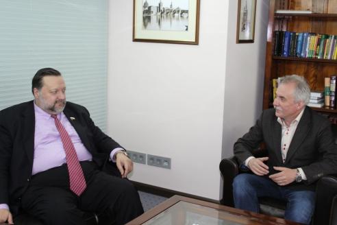 П.С. Дорохин и Н.А.Кузнецов в редакции МР, 10 апреля 2017 года