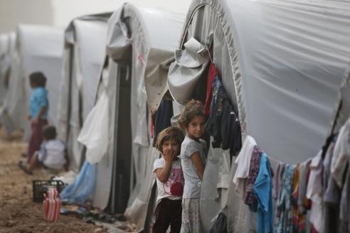 Лагерь беженцев в Турции
