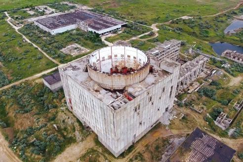 Заброшенная Крымская АЭС