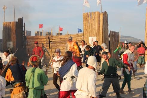 Международный рыцарский фестиваль «Генуэзский шлем» в Судаке