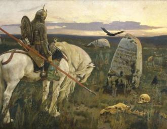 «Витязь на распутье». В.М. Васнецов