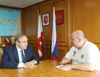 Г.Л. Мурадов и Д.А. Сурмило, 27 июля 2018 года