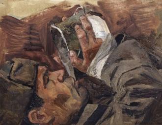 «Солдат с котелком». В.А. Бабицын