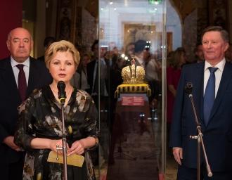 Открытие выставки. Одностолпная палата Патриаршего дворца. 10 июля 2019 г.