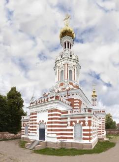 Церковь Воскресения Христова на Камской улице после реставрации. Работы проводила компания «Лапин  Энтерпрайз»