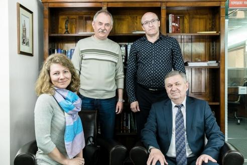 Ю.М. Григорьев в редакции МР, май 2016 года
