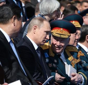Юбилейный парад Победы на Красной площади. 2015 г.