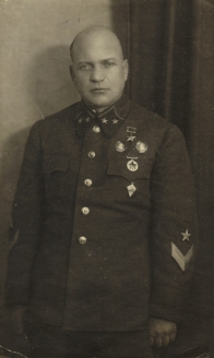 Генерал-майор А. Лизюков.1942 г.