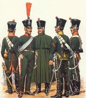 Конные егеря. Наполеоновские войны