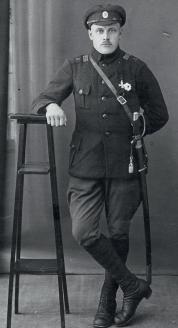 Унтер-офицер кавалерии. Первая мировая война