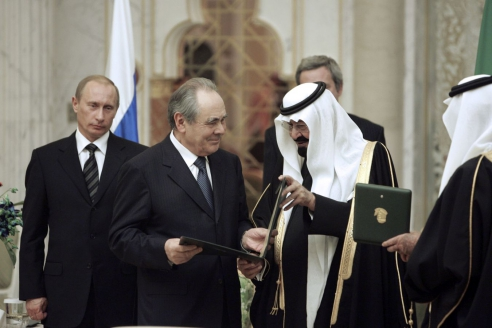 Вручение премии Фейсала. Саудовска Аравия, Джидда, февраль, 2007 г.
