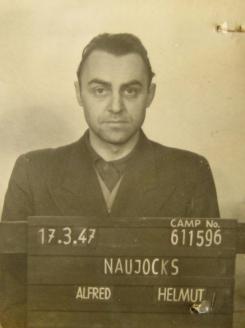 Штурмбаннфюрер СС, офицер разведки Третьего рейха А. Науйокс