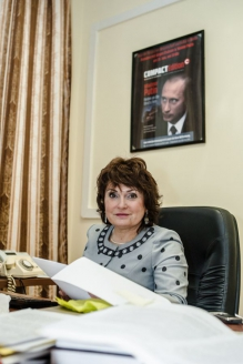 Заместитель директора РИСИ, руководитель центра д.и.н. Т.С. Гузенкова