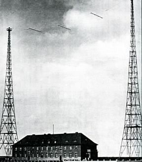 Радиостанция в Глейвице. 1939 г.