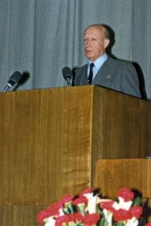 Последнее выступление перед разведкой. 1991 г.