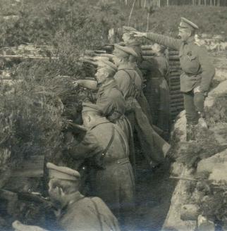 Комендант Осовецкой крепости генерал-лейтенант Н.А. Бржозовский
