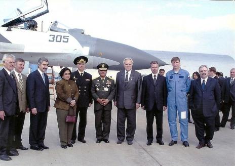 С президентом Индонезии