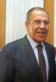 Министр иностранных дел России С.В. Лавров