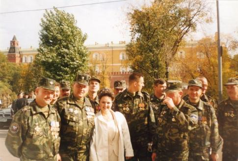 С бойцами спецназа